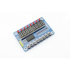 TM1638 8 Digit Digitron Display with Button (ER-DDL16381D)