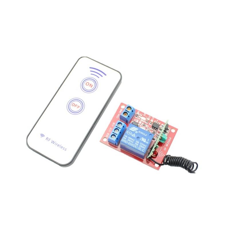 1 Channel RF Remote Control Relay Module DC 5V (ER-CRF00501C)