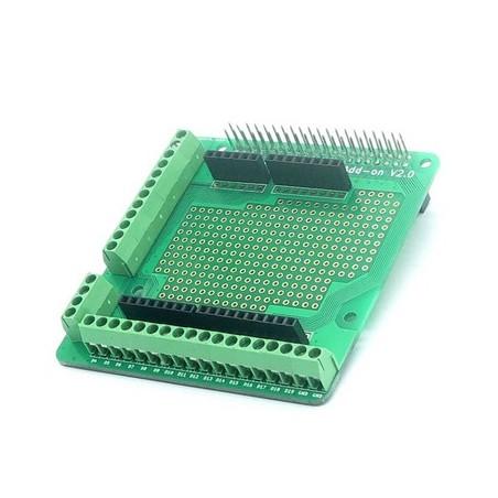 Raspberry PI2 2x20pin Screws Prototype Add-on V2.0 (Itead IM150627003)