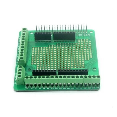 *Replaced AL-113492* Raspberry Pi2 2x20pin Screws Prototype Add-on V2.0 (Itead IM150627003)