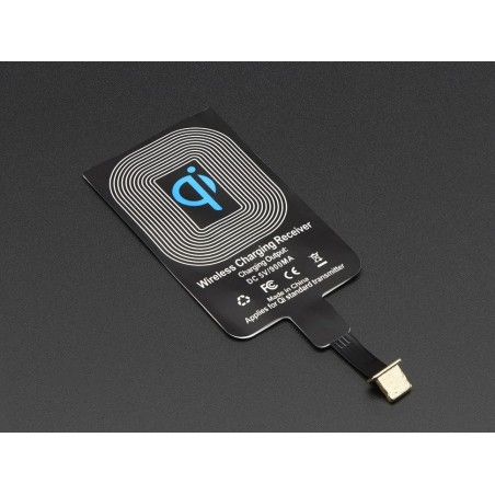Qi Wireless Charging Module - 20mm - Lightning Connector (Adafruit 2677)