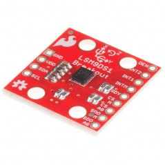 9 Degrees of Freedom IMU Breakout LSM9DS1 (SparkFun SEN-13284)