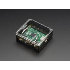 Adafruit Raspberry Pi A+ Case - Smoke Base w/ Clear Top (Adafruit 2359)