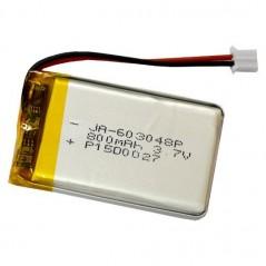 BATTERY-LIPO800mAh (Olimex) Polymer Lithium Ion Battery 800mAh LI-PO
