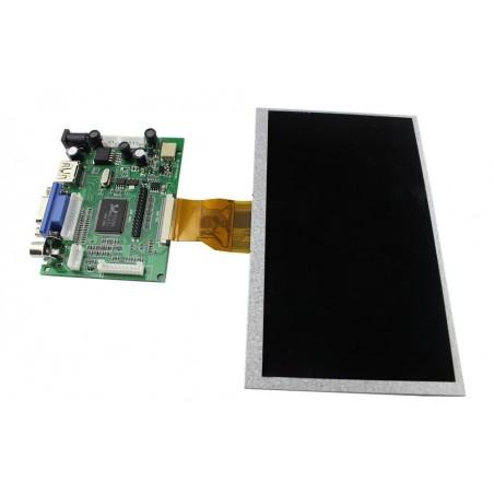 7 Inch 800x480 TFT Display for Raspberry Pi Pcduino Banane Pi (ER-RPA07800R)