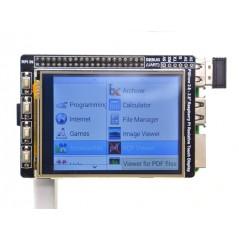 "PiShow 2.8"" Resistive Touch Display for Raspberry Pi (Seeed 104990172)"
