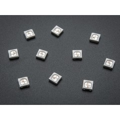 WS2812B 5050 RGB LED with Integrated Driver Chip - 10pack (Adafruit 1655)