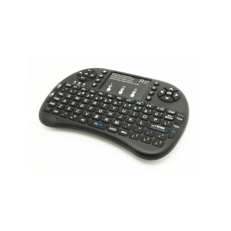 Rii mini Keyboard (Rii Tek) RT-MWK08 2.4 Ghz Mini Wireless Keyboard