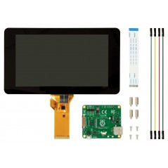 "RASPBERRYPI-DISPLAY v1.1 (2473872) Raspberry Pi LCD 7"" Display with 10 Finger Touch,DSI port"