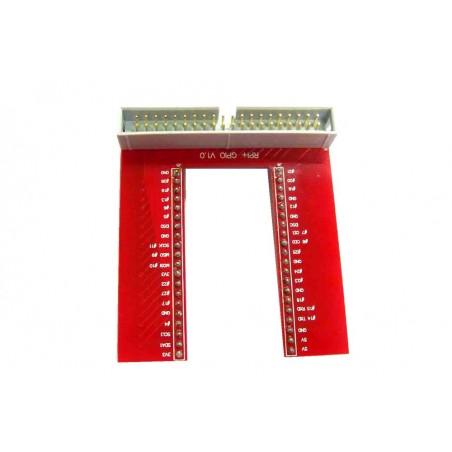 U Type Gpio Proto Board for Raspberry Pi B/B+ (ER-RPA02657R)