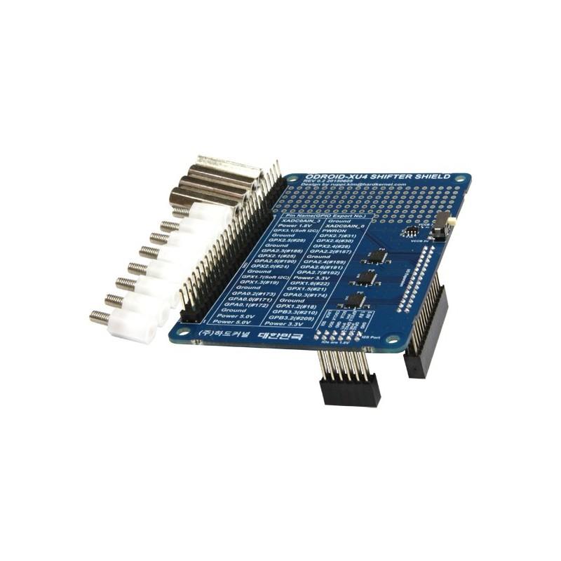 Remarkable Xu4 Shifter Shield Hardkernel 1 8V Xu4 Gpio Pins Level Shifted To Wiring Database Cominyuccorg