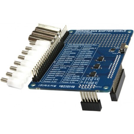 XU4 Shifter Shield (Hardkernel) 1.8V XU4 GPIO pins level shifted to on