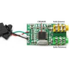 USB Audio Adapter (Hardkernel) CM108AH