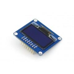 1.3inch OLED (B) (Waveshare)  128x64, 3/4-wire SPI, I2C, SH1106, 3.3/5V, blue