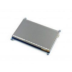 "7inch HDMI LCD (C) (Waveshare) 1024×600 IPS, 7"" Capacitive Touch LCD, HDMI, supports various systems"