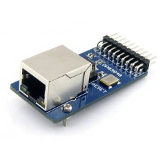 DP83848 Ethernet Board (Waveshare) RJ45 connector, control interface