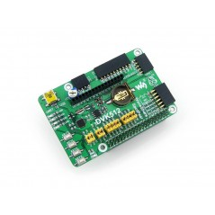 DVK512 (Waveshare) expansion board designed for Raspberry Pi