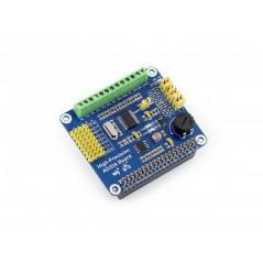 High-Precision AD/DA Board (Waveshare) AD/DA for Raspberry Pi GPIO