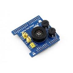 Analog Test Shield (Waveshare) for Arduino Development, AD/DA