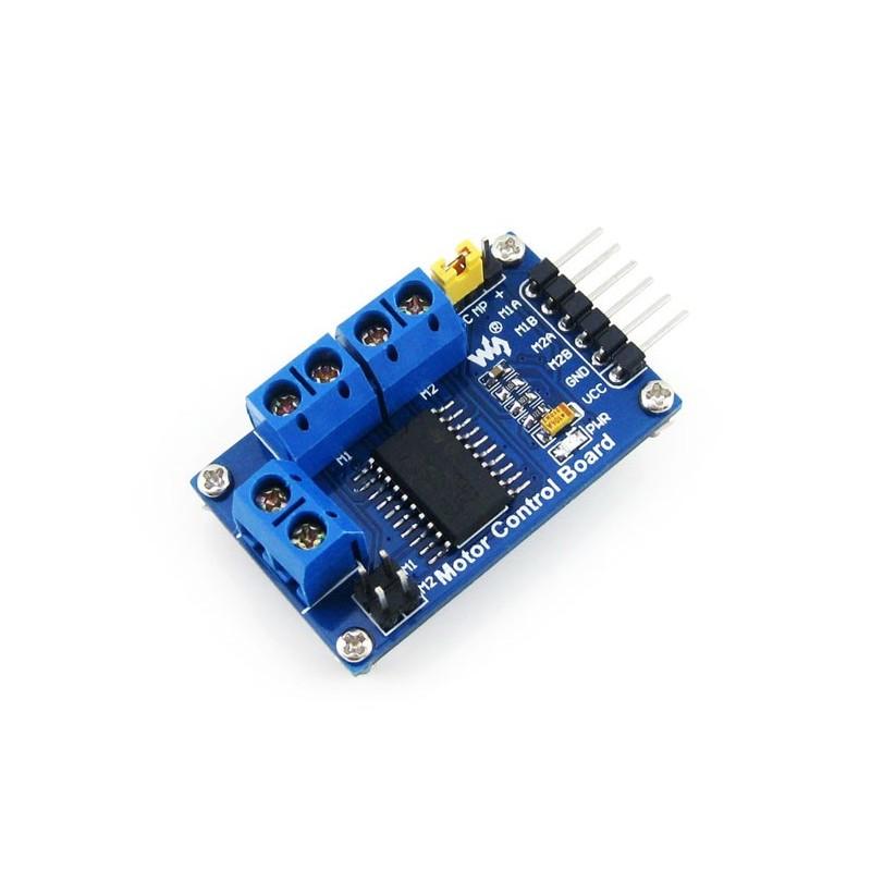Motor control board waveshare dual h bridge driver l293d for L293d motor driver datasheet