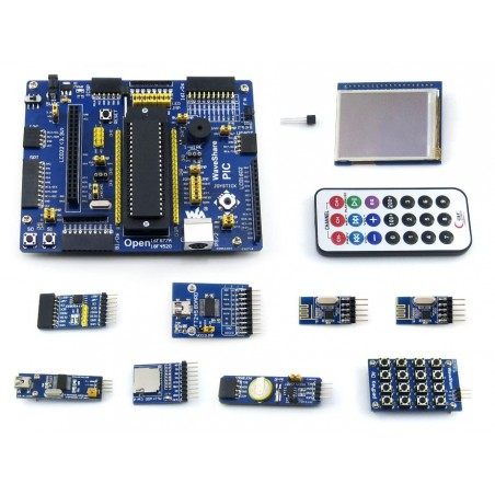 Open18F4520 Package A (Waveshare) PIC development board