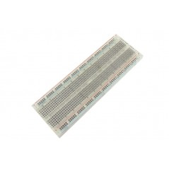 ER-PBB16559P 16.50x5.50cm BreadBoard With Slot - Clear 830point