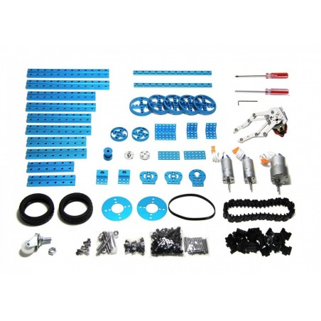 Advanced Robot Kit-Blue - No Electronics (Makeblock 91004)