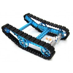 Advanced Robot Kit-Blue - No Electronics (Makeblock 91004)