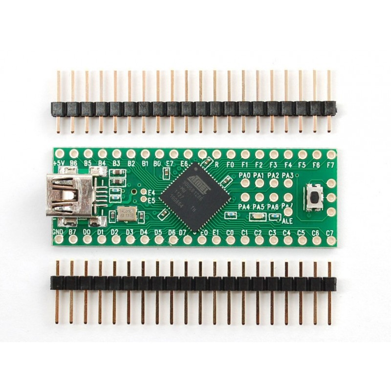 Teensy++ (AT90USB1286 USB dev board) + header - AT90USB1286 (Adafruit 731)