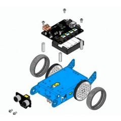 mBot - STEM Educational Robot Kit for Kids - 2 4GHz Version (Makeblock  90055)