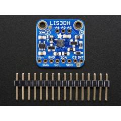 Adafruit LIS3DH Triple-Axis Accelerometer +-2g/4g/8g/16g (Adafruit 2809)