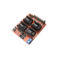 CNC Shield V3.5 for Arduino (GRBL v0.9 compatible with PWM Spind (ER-CDP03509S)