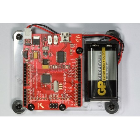Harness for Arduino/Seeeduino kit (Seeed STR115B2P) for Arduino, Seeeduino or other clone + 9V BAT.