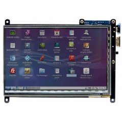 7inch HDMI display with Multi-touch (Hardkernel ODROID-VU7) 800x480
