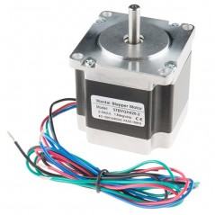 Stepper Motor - 125 oz.in, 200 steps/rev, 600mm Wire (Sparkfun ROB-13656)