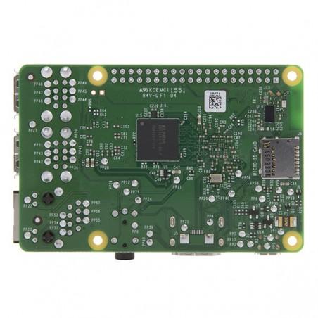 Raspberry Pi 3 Model B 1GB  (Quad Core 1.2GHz Broadcom BCM2837 64bit CPU,1GB RAM,BCM43143 WiFi,BLE)