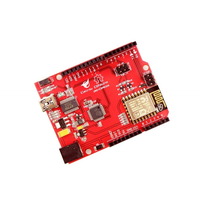 Elecrow ESPduino UNO + ESP8266 Wifi Board (ER-ACM82664A)