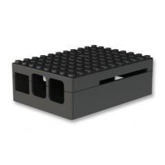 CBPIBLOX-BLK (MULTICOMP) PiBlox Enclosure, Black, Compatible with Pi B+/2/3 Model B