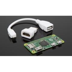 RASPBERRY PI ZERO WITH ADAPTERS 84714100
