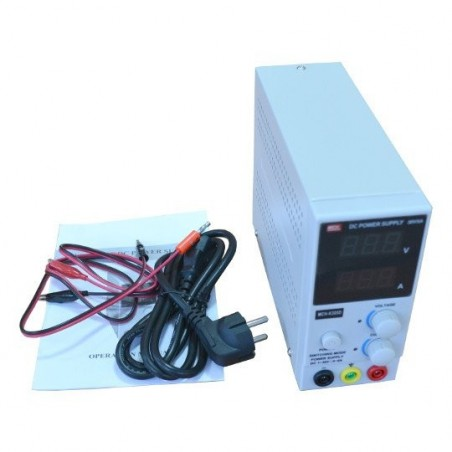 PWR-PS3005 (Olimex) REGULATED ADJUSTABLE POWER SUPPLY 0-30V 5A