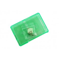 Green Plastic Shell for Raspberry Pi 3/2B/B+ (ER-RPA59340S)
