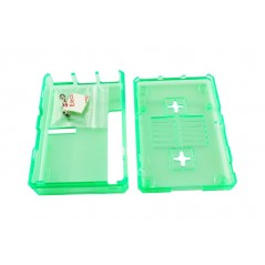 Green Plastic Shell for Raspberry Pi 3/2B/B+ (ER-RPA59340S)