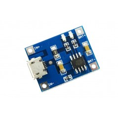 Micro USB 5V 1A Lithium Battery Charging Board (ER-PSC12220B)