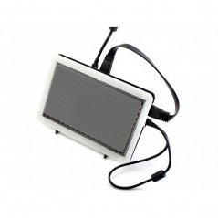 7inch HDMI LCD (C) (with bicolor case) (Waweshare)