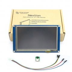 """Nextion NX8048T050 - 5.0"""" LCD TFT HMI Intelligent Touch Display (Itead IM150416006)"""