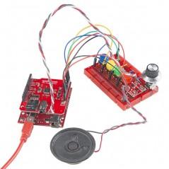 SparkFun MP3 Player Shield (Sparkfun DEV-12660)