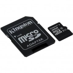 Micro SDHC 32GB Class 10 UHS-I s adaptérom G2 (KINGSTON SDC10G2/32GB)