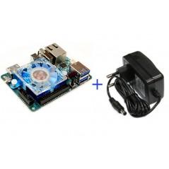 ODROID-XU4 +ADAPTER 5V/4A (Hardkernel) Exynos5422,Mali-T628 MP6,2Gbyte LPDDR3,eMMC5.0 HS400 Flash