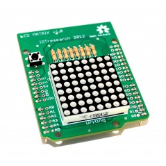 LED Matrix Shield - new Arduino UNO R3 style (K014)