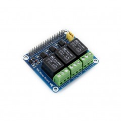 RPi Relay Board (Waveshare WS-RELAY-BOARD) Supports Raspberry Pi A+/B+/2B/3B